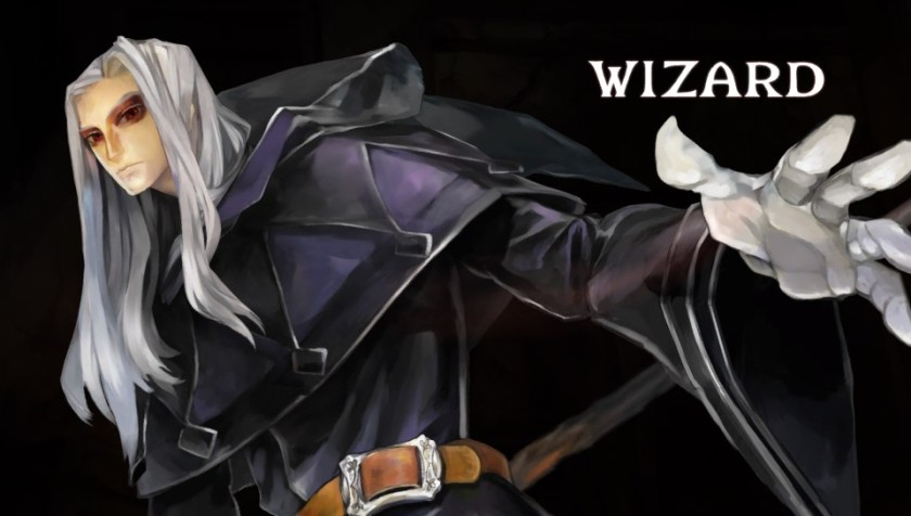 The Wizard can cast powerful spells against his foes.