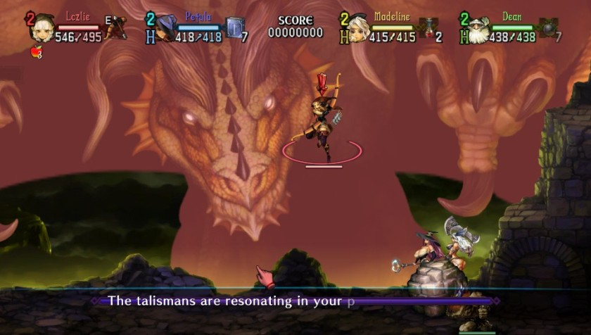 The fight with the Ancient Dragon is tough.  There is little cover and you get no continues.
