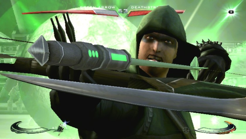 Green Arrow/Arrow enters his Special Attack!