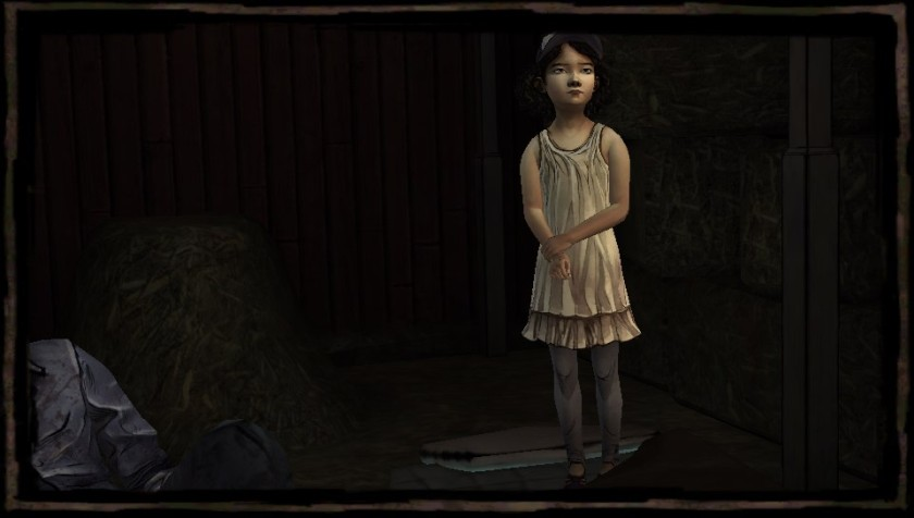 Clementine is the little girl Lee decides to protect.