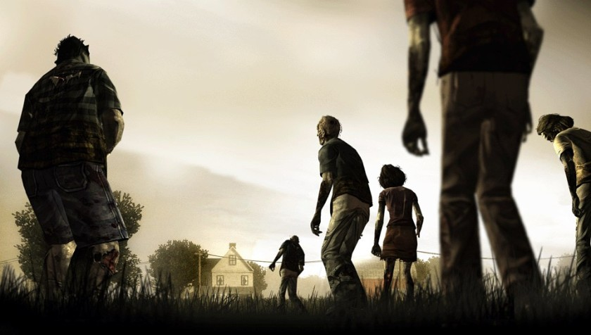 The Walkers lumber onto the PS Vita