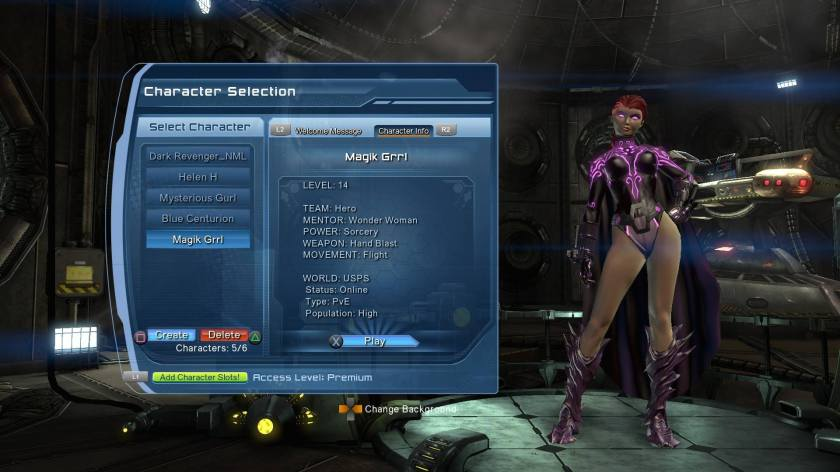 DCU Online- One of my favorite MMORPGs and it carries over any toons on the PS3 version.