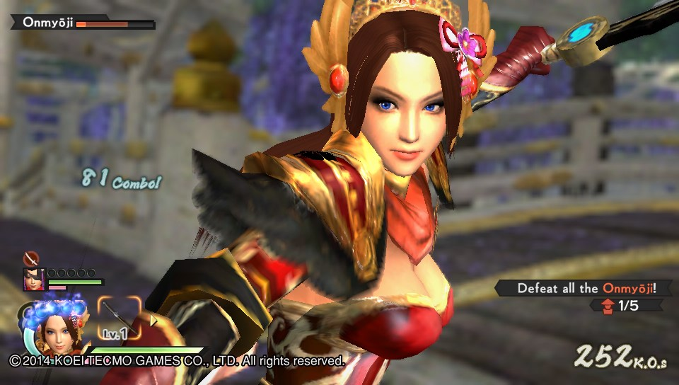 PS Vita Review:  Samurai Warriors 4