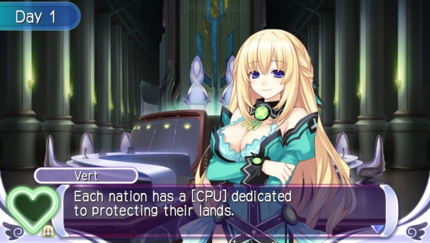 Vert is the most mature of the four girls (as least physically), and managing her seems slightly less creepy.  Slightly.