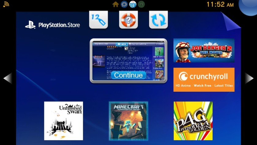 PS Store works like it does on the Vita.  You can use it to determine  some (if not all) of the games that are compatible.