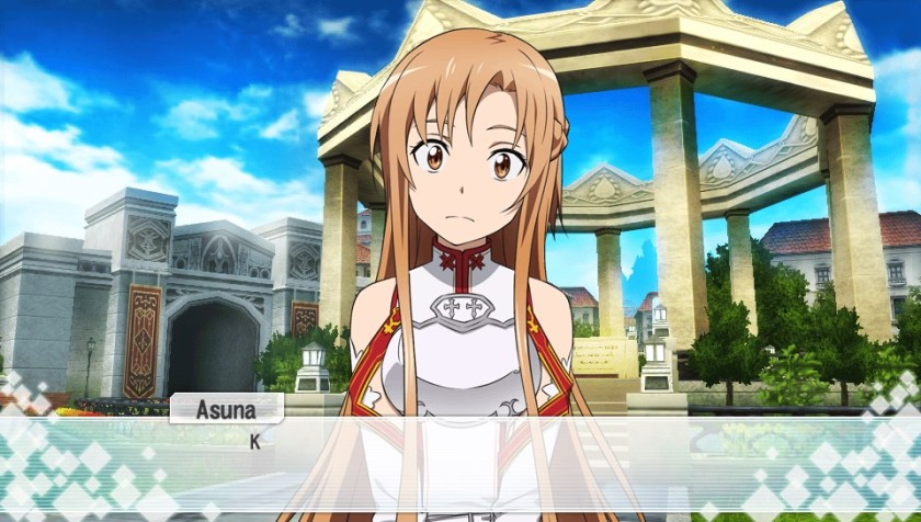Asuna is very protective of Kirito, even though he tends to be a chick magnet