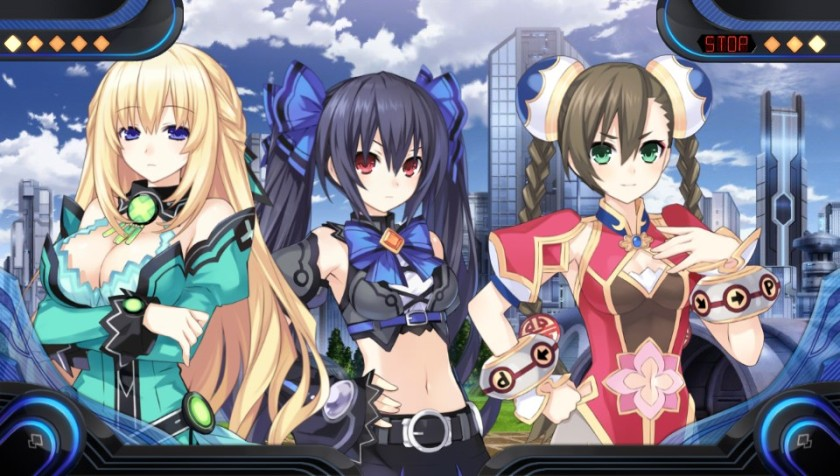 The story is told like in the other Neptunia games.