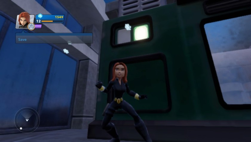 Black Widow in the Avengers Playset