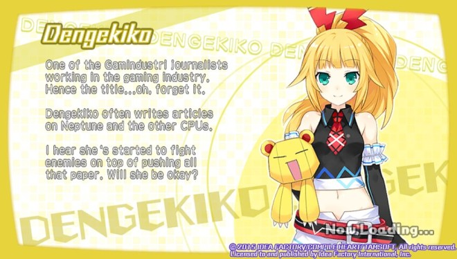 This is Dengekiko, based on the Dengeki PlayStation Magazine