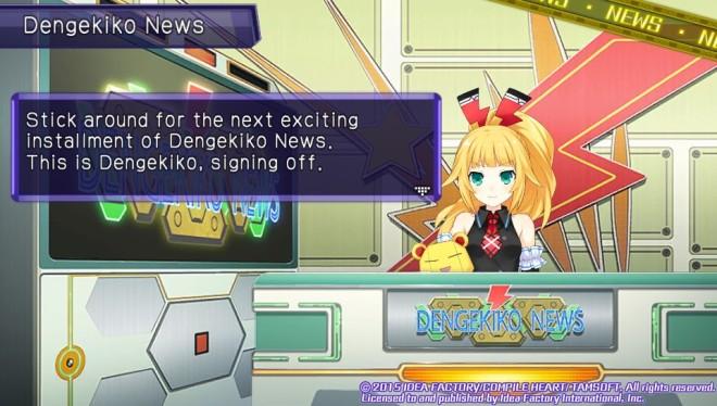 Costume Unlocks are preceded by News Bulletins from Dengekiko or Famitsu.