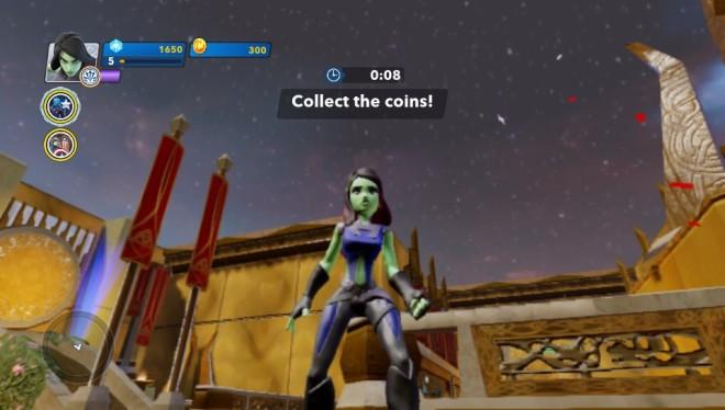Gamora in the Asgard Toy Box