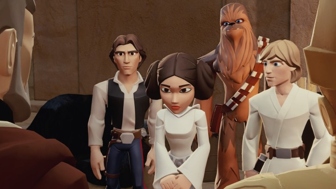 Rise of the Empire tells a very abridged version of the Original Trilogy
