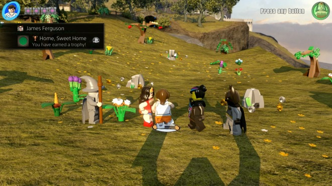 You can explore the fields of the Shire in Middle Earth