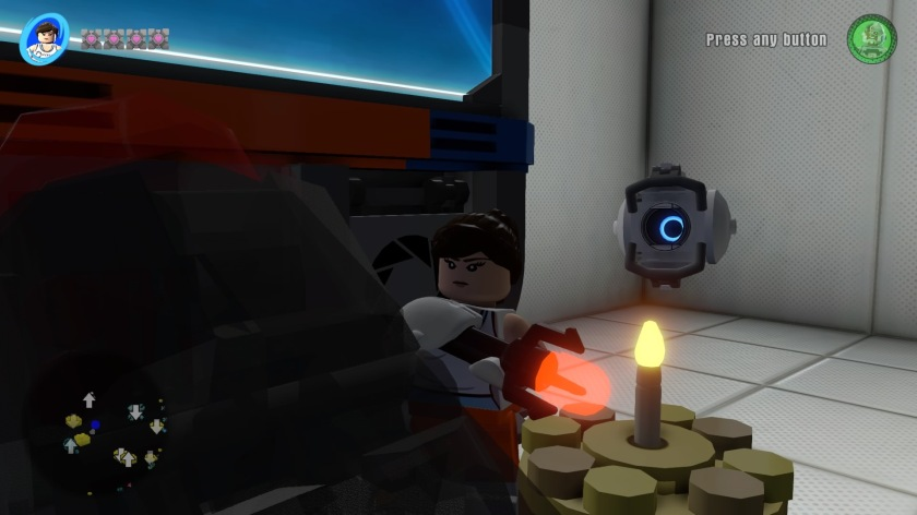 In the Portal 2 world, there is cake!
