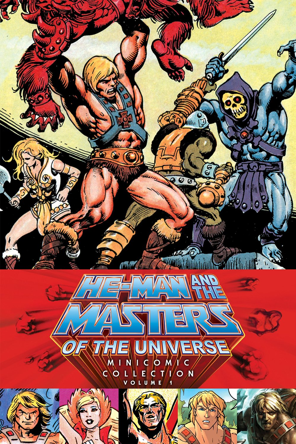 Graphic Novel Review:  He-Man and the Masters of the Universe Mini-Comic Collection