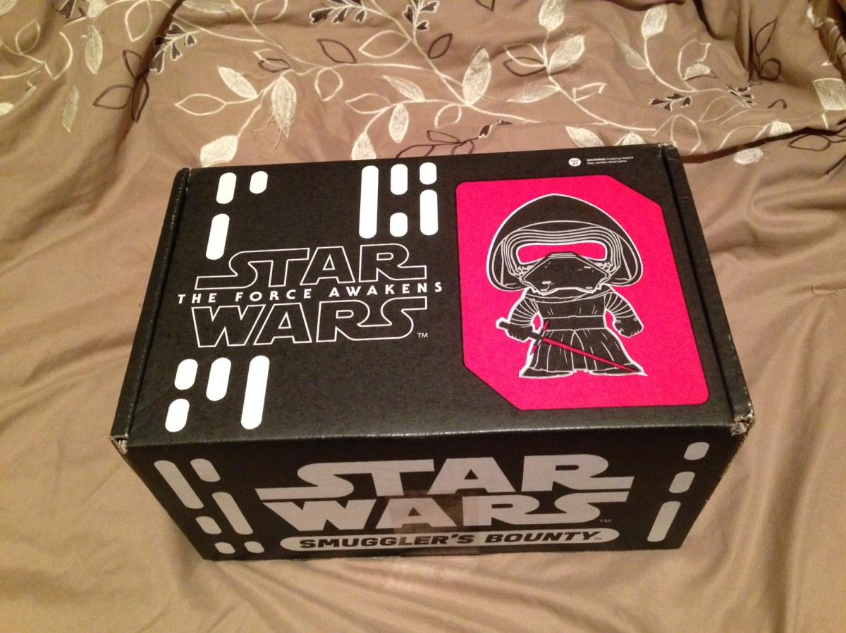 Subscription Box Review- Star Wars: Smuggler's Bounty