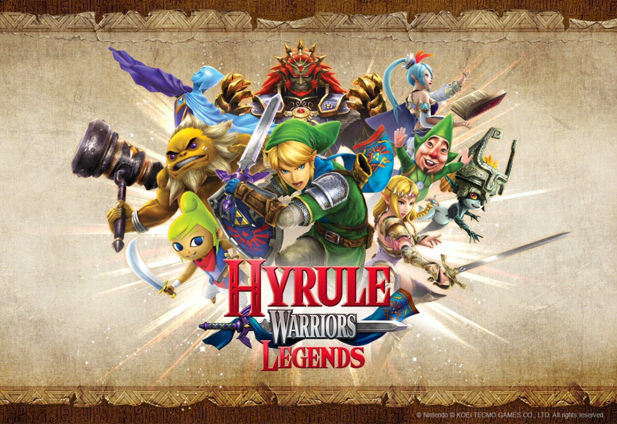3DS Review:  Hyrule Warriors Legends