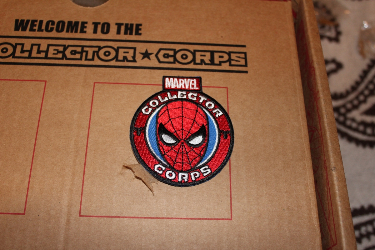 Subscription Box Review- Marvel Collectors Corps Spider-Man Box
