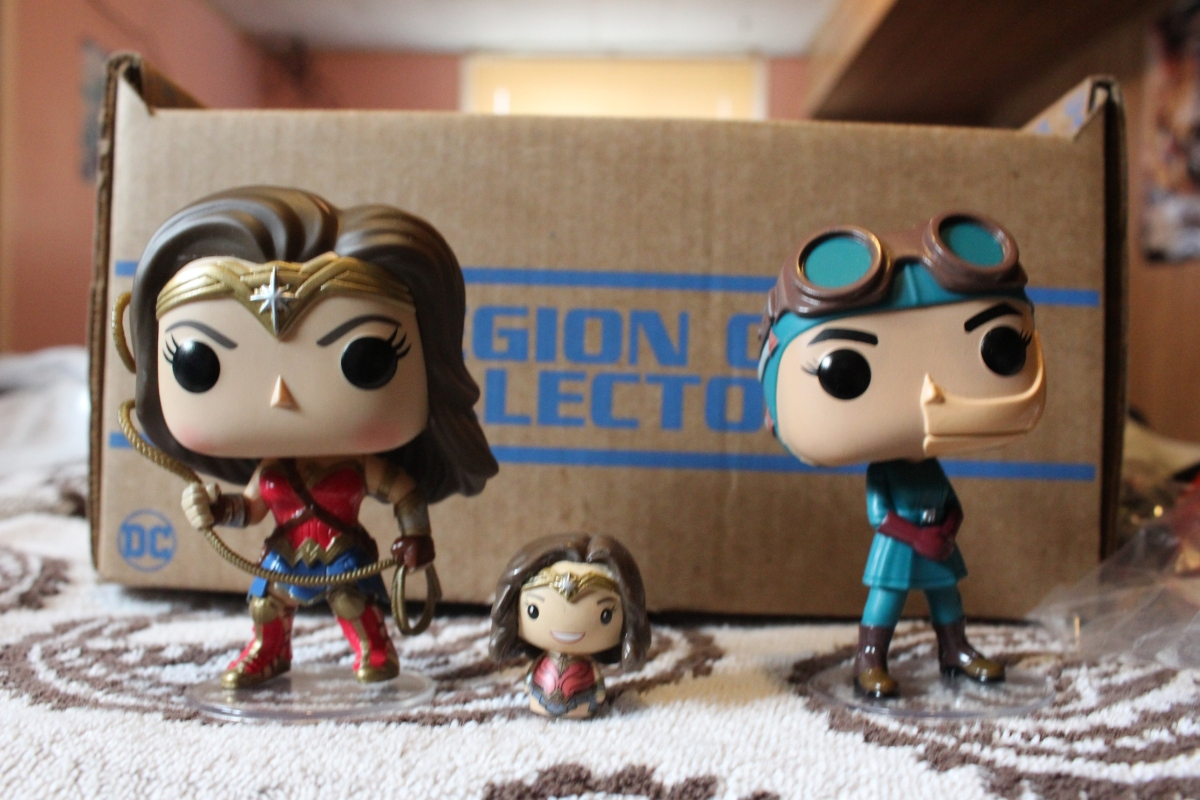 Subscription Box Review- DC Legion of Collectors: Wonder Woman (Movie)- May 2017