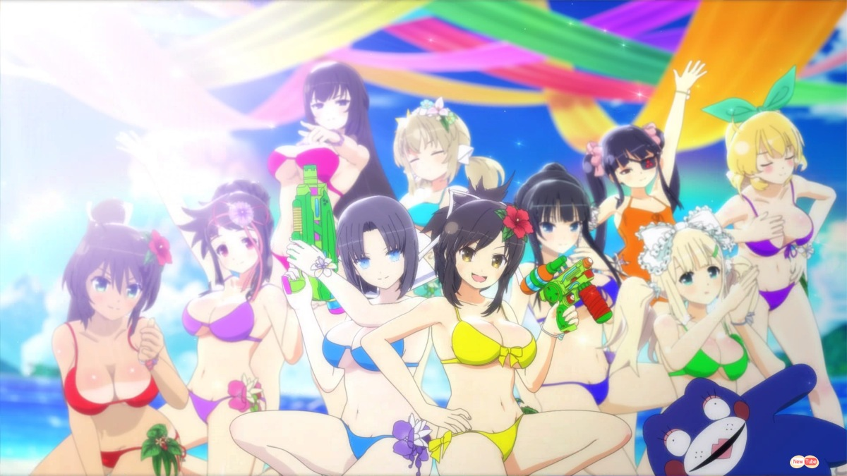 PS4 Review:  Senran Kagura: Peach Beach Splash