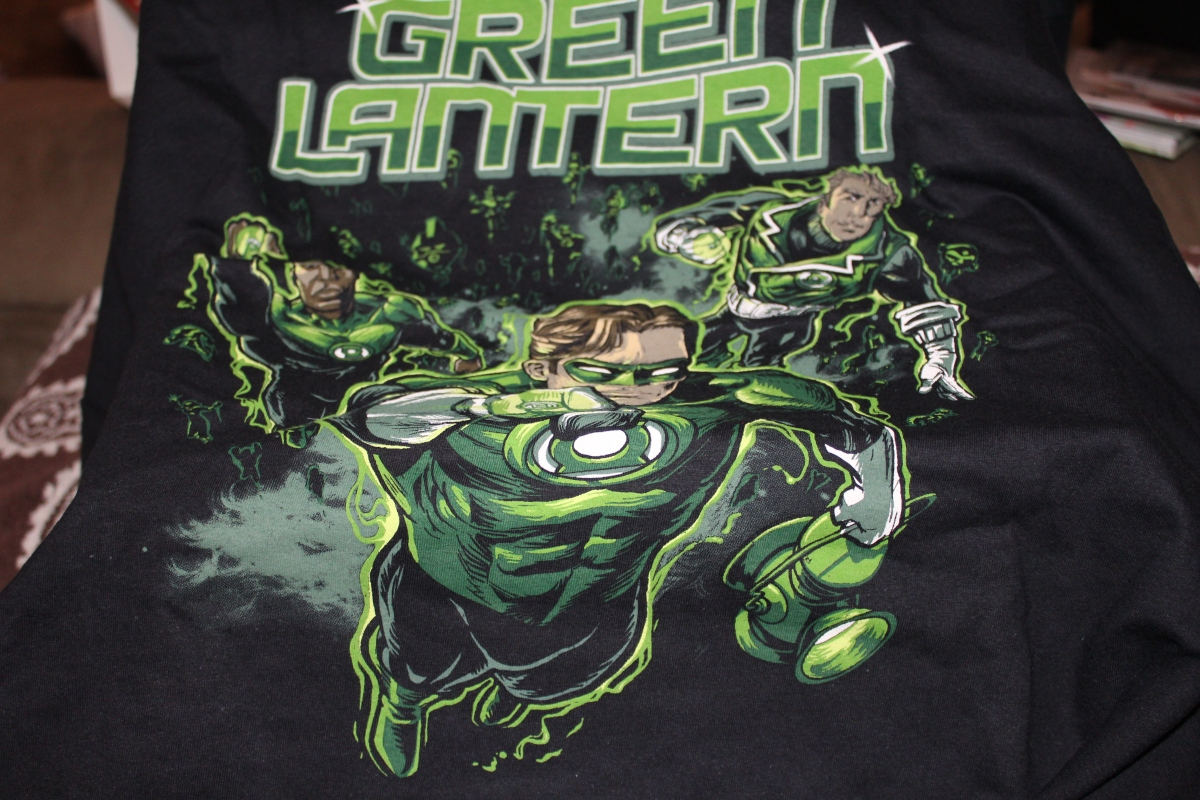Subscription Box Review:  Legion of Collectors Green Lantern Corps