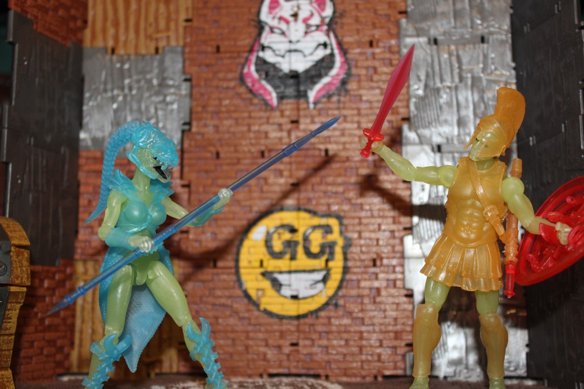 Review: Vitruvian H.A.C.K.S Series 1: Afterlife Spartan and Gorgon