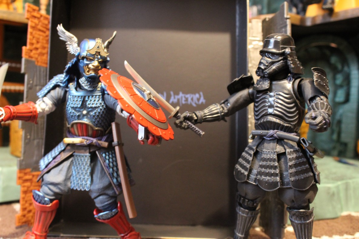 Review Bandai Tamashii Nations Marvel Manga Realization Samurai Captain America