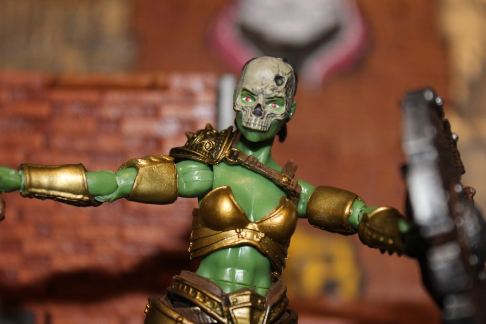 Review: Vitruvian H.A.C.K.S Series 2: Orc Conqueror- Female Strategist