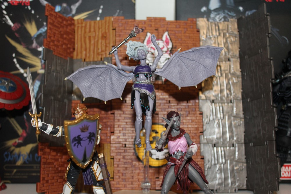 Mini Reviews:  Vitruvian H.A.C.K.S Series 2 Cerisier, King Lance Steelblade, and Lacuna