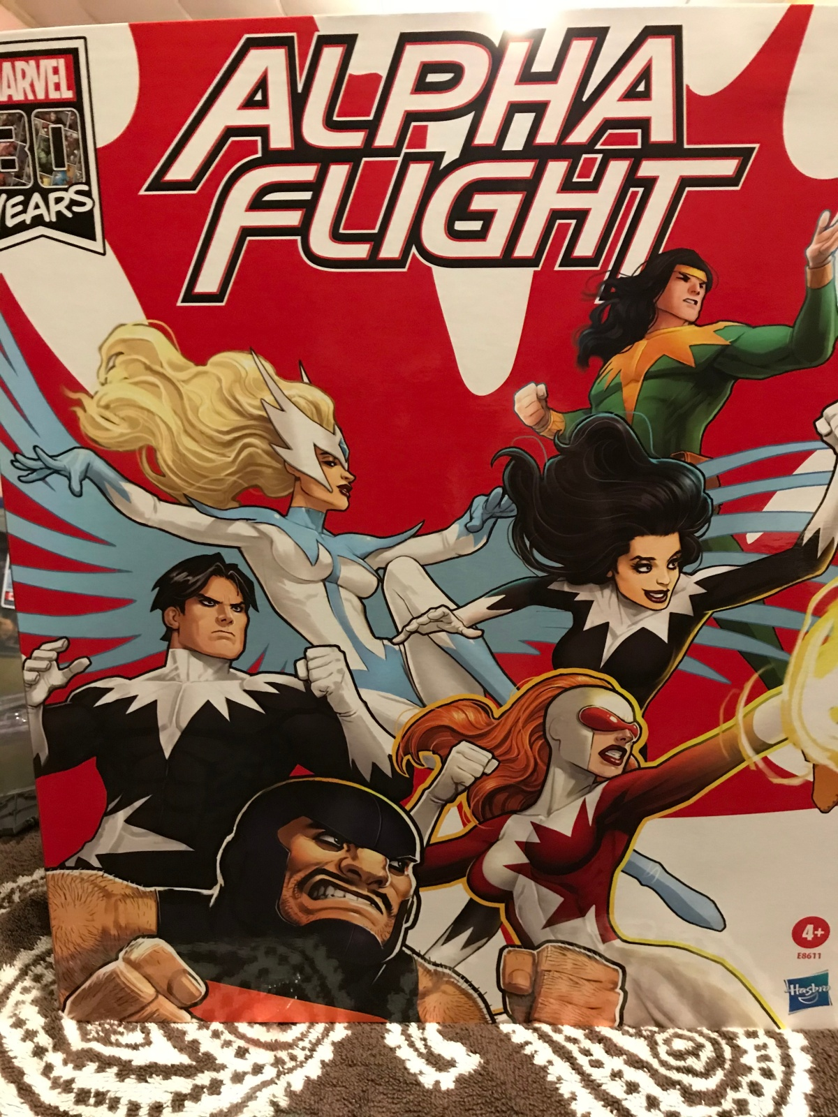 Review: Marvel Legends Series Alpha Flight box set