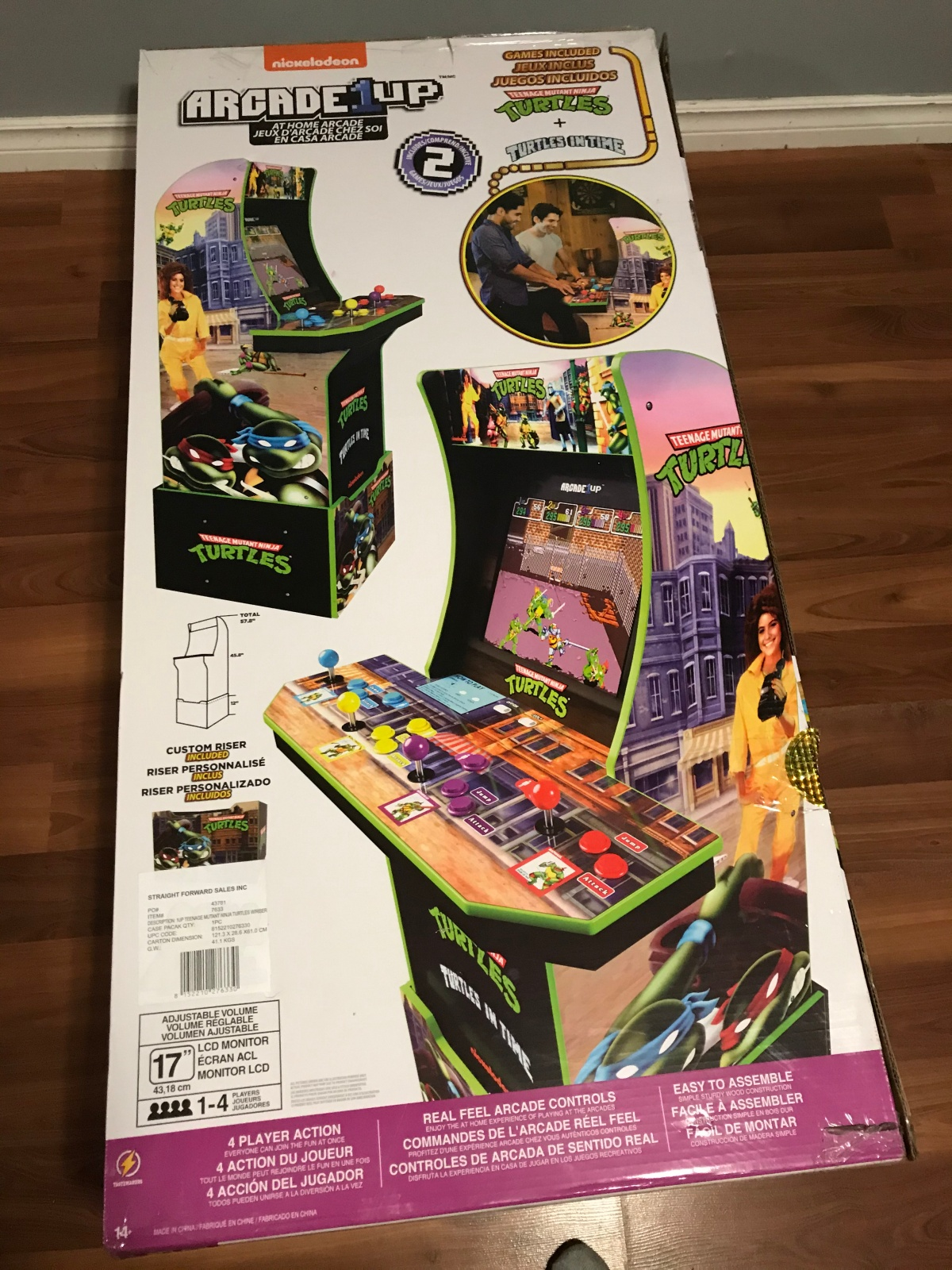 Review: Arcade 1Up's Teenage Mutant Ninja Turtles ArcadeCabinet